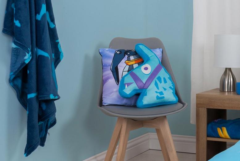 Fortnite Bedroom Cushion or Fleece (£9.99)