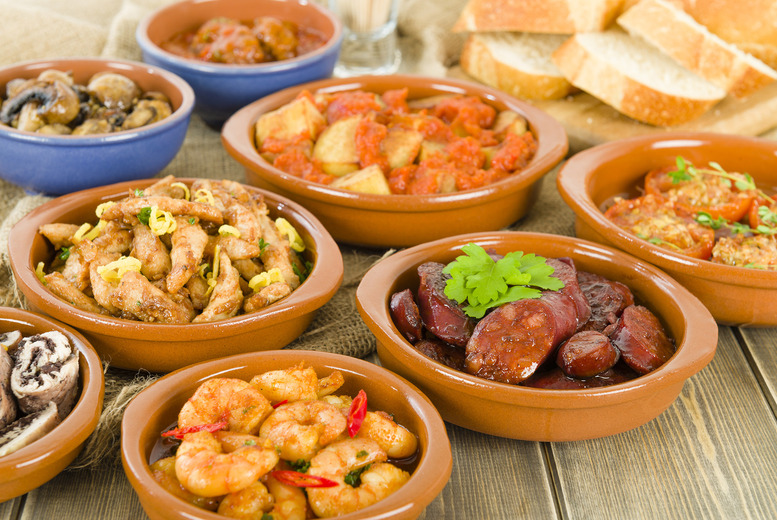 £19 instead of up to £44.08 for a Spanish meal for 2 inc. 2 tapas dishes each & a bottle of Prosecco to share at Bar Seven - save up to 57%