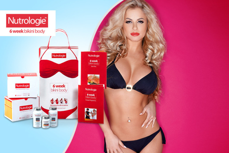 £47.49 instead of £94.99 (from Nutrologie) for a '6-week bikini body' kit inc. shakes, boosters, exercise plan & more - save 50% + FREE DELIVERY