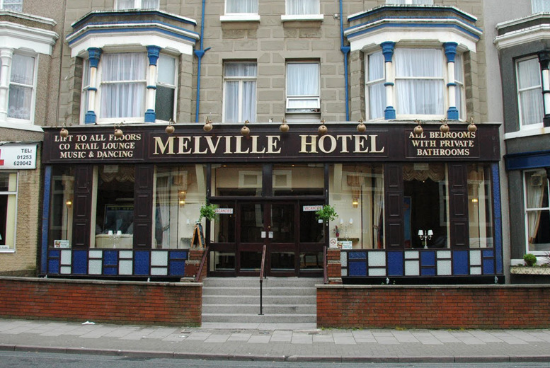 £59 instead of up to £150 (at The Melville Hotel, Blackpool) for a 2nt break for 2 people including daily full English breakfast - save up to 61%