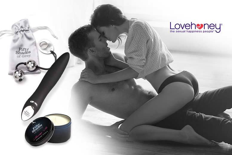 £39 instead of £92.98 (from Lovehoney) for a 3-piece luxury Fifty Shades of Grey™ pleasure set with massage candle/oil - save 58%