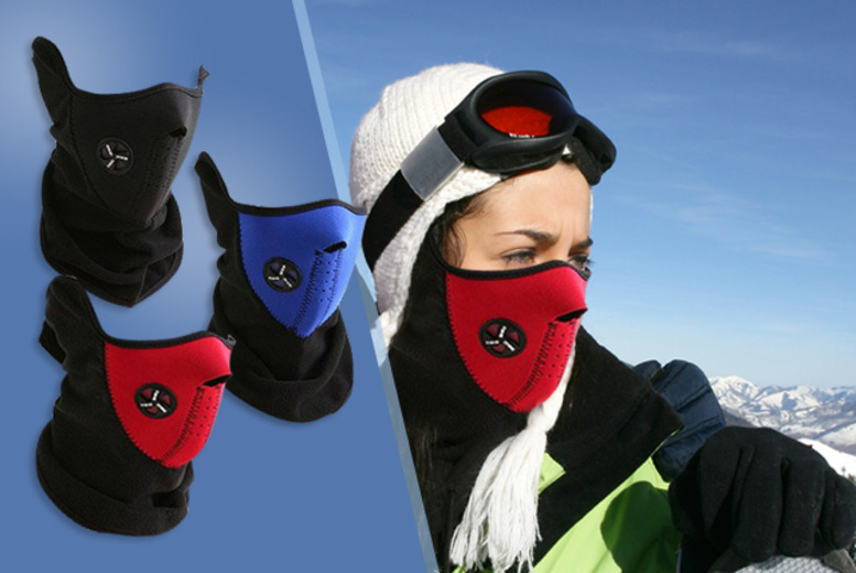 £9 instead of £59.97 (from Fizzy Peach) for 3 thermal neoprene face and neck masks - save 85%