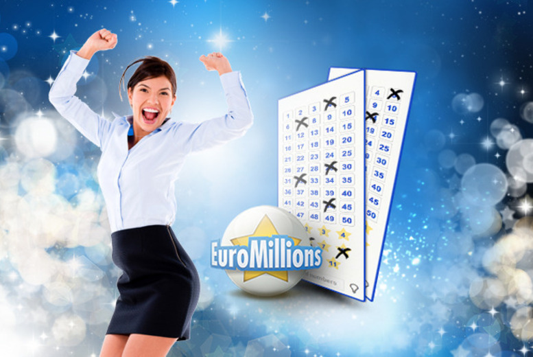 £8 (from Lottoland) for 8 half-price bets on EuroMillions for 2wks, £16 for 16 bets over 4wks, £32 for 32 over 8wks - save 50%