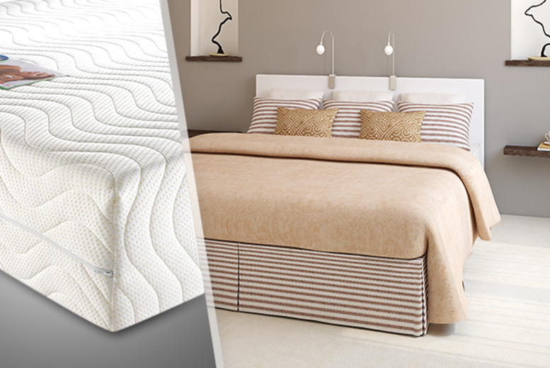 From £149 (from Trusleep) for a single, double, king, or super king Trusleep Ortho DreamGel memory foam mattress - save up to 70% + DELIVERY INCLUDED
