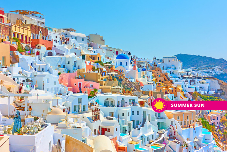 From £219pp (from Weekender Breaks) for a five-night Athens and Santorini getaway with ferry transfer and flights, or from £269pp for a seven-night break – save up to 29% from Weekender Breaks