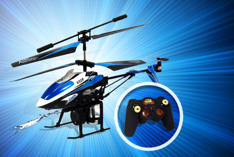 £15.99 instead of £65 for a water-firing or bubble-firing remote control helicopter from Wowcher Direct  - save 77%