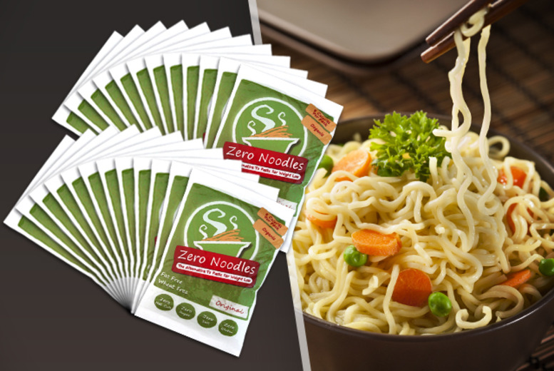 £24 instead of £37.92 (from Zero Noodles) for 24x 200g packs of low-calorie noodles - save 37%