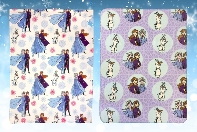 Disney's Frozen 2 Cosy Fleece Throw – 2 Designs! (£12.99)