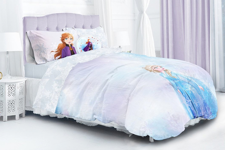 Frozen 2 Watercolour Duvet Cover Set – 2 Sizes! (£18.99)