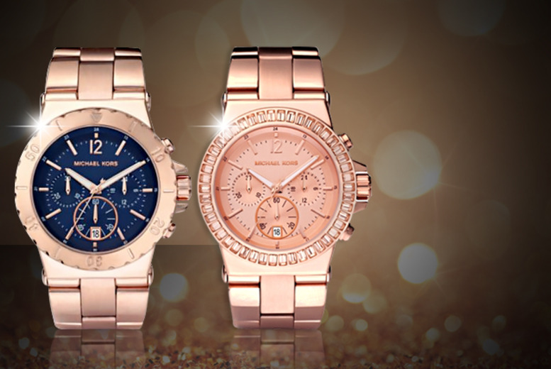 From £169 instead of up to £229 (from Castile Jewellery) for a Michael Kors ladies watch in a choice of 5 styles - save up to 26% + DELIVERY IS INCLUDED!