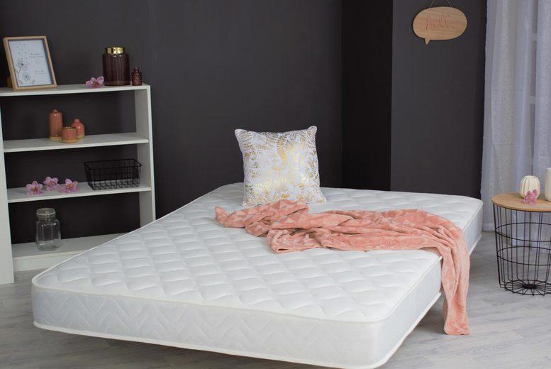 Easy Sleep Hypoallergenic Memory Foam Sprung Mattress (5 Sizes) (£39)