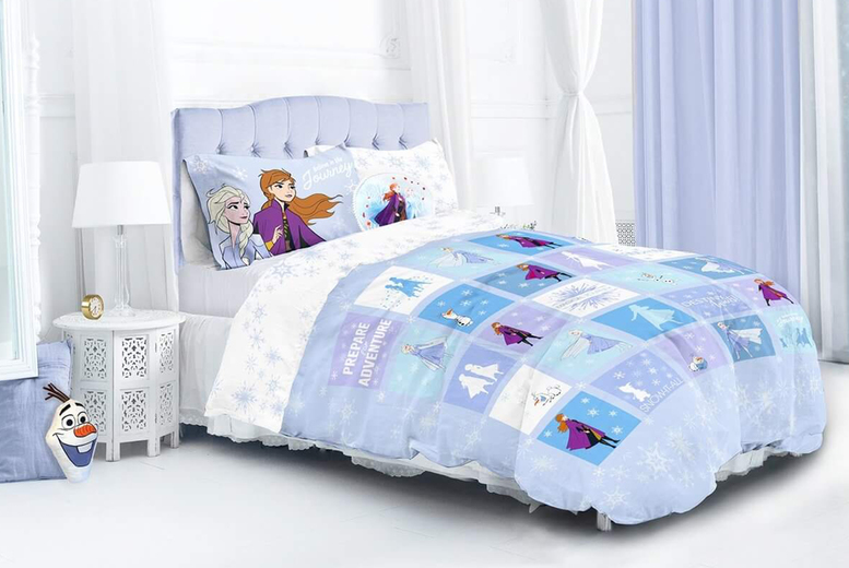 Frozen 2 Patchwork Duvet Cover Set – 2 Sizes! (£17.99)