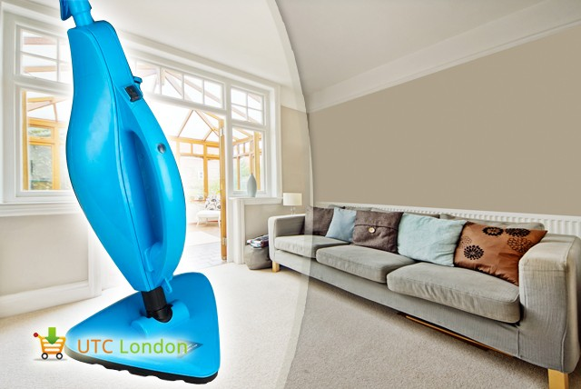 £49 instead of £99.99 (from UTC London) for a Universal Steam Mop – clean upholstery, carpet, stone + more & save 51%