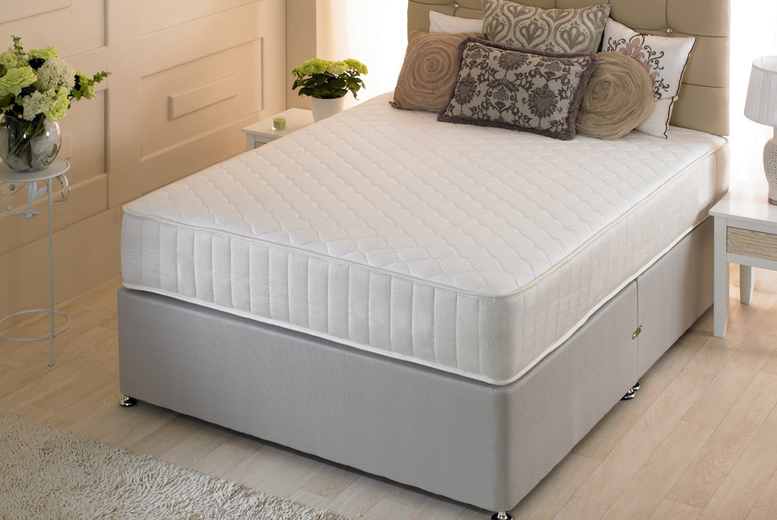 From £49 (from Desire Beds) for a small single Fenton orthopaedic quilted sprung mattress – choose your size and save up to 75%