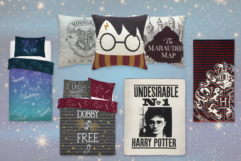 Harry Potter Cushion & Bedding Range – 7 Options! (£7.99)