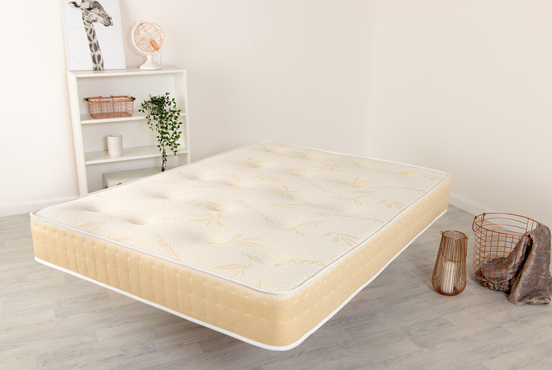 From £69 instead of £269.99 (from Desire Beds) for a royal gold memory foam bio natural mattress – choose from five sizes and save up to 74%