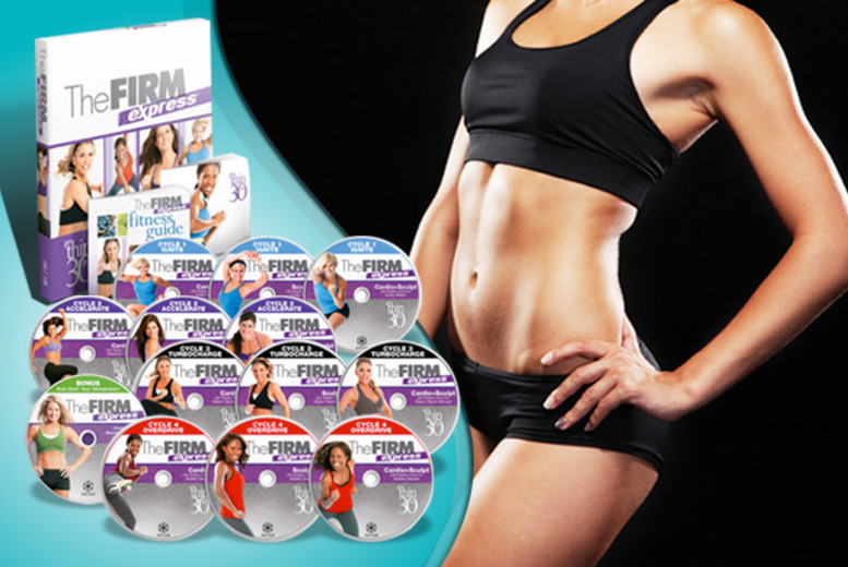 £34.99 instead of £79.99 (from Home Shopping Mall) for a 'Firm Express' 30-day home fitness programme DVD - save 56% + DELIVERY INCLUDED