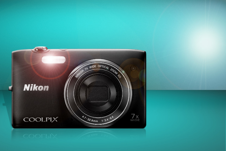 £53 instead of £66 for a Nikon COOLPIX S3400 7x Zoom compact digital camera from Wowcher Direct - save 20%