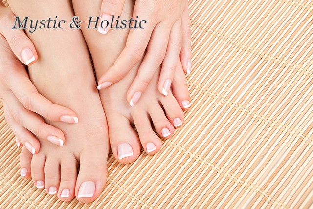 £6 for a 30 minute manicure or pedicure, or £12 for both treatments at Mystic & Holistic, Manchester – save 60%
