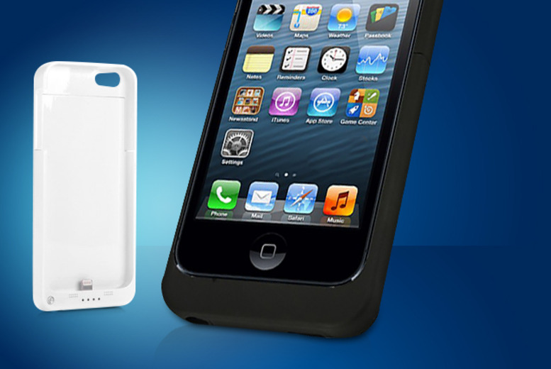 £10 instead of £20 (from Chimp Electronics) for an iPhone 4 charging case, £14 for an iPhone 5 - save up to 50%