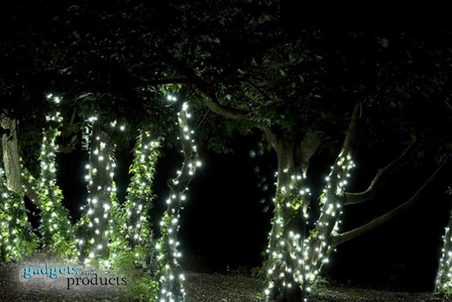 £10 instead of £34.95 (from Gadgets & Products) for a 10 metre string of solar powered fairy lights with 100 LED bulbs – save a de-light-ful 71%