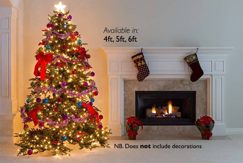 £9.99 instead of £36.99 (from Groundlevel) for a four foot artificial Christmas tree £12.99 for a five foot tree or £16.99 for a six foot tree – save up to 73