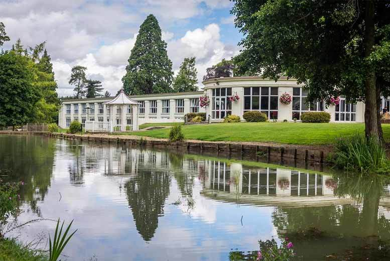£49 for a spa day with two treatments and unlimited tea or coffee for one or £99 with an afternoon tea for two at Cheltenham Park Hotel - save up to 50%
