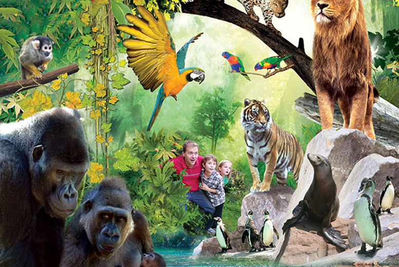 £79 (at Chessington World of Adventures Resort) for a 1-night stay for a family of up to 4 inc. one-day entry to the Zoo and SEA LIFE centre - save up to 35%