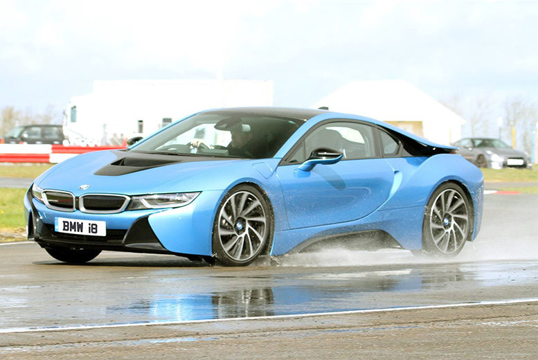From £39 for a three-lap BMW i8 experience at one of five UK locations from Supercar Test Drives - save up to 74%