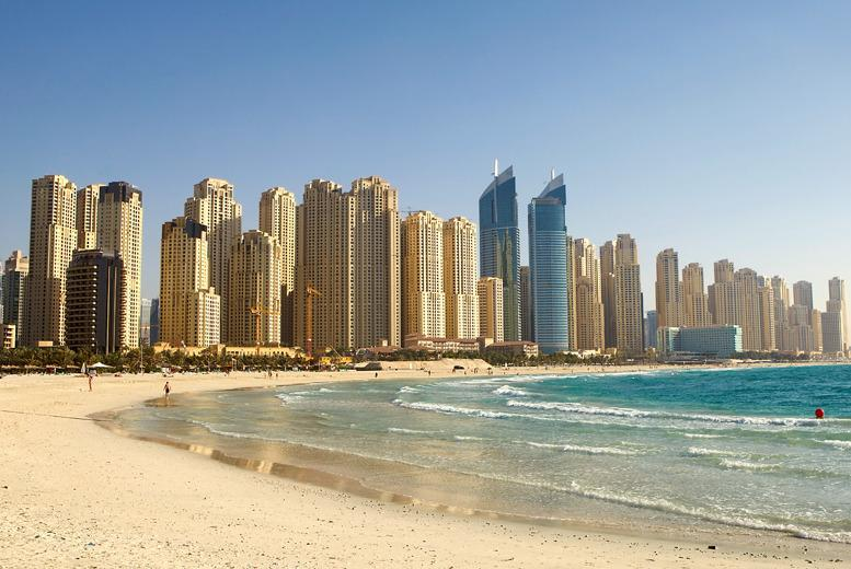 From £489pp instead of up to £610.42pp (from iFly) for a 3nt Dubai break in