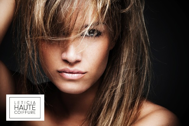 £29 for a cut, conditioning & blow dry w/ senior stylist or £49 inc ½ head highlights at Leticia Haute Coiffure, Marylebone - save up to 55%