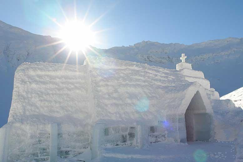 £199pp (with Untravelled Paths) for a 4-night Ice Hotel Romanian break for 2, £279pp inc. Peles Castle & Rasnov Fortress tours - save up to 46%