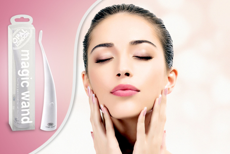 £9.99 instead of £18 (from Opal Crafts) for a magic wand facial massager - save 44%