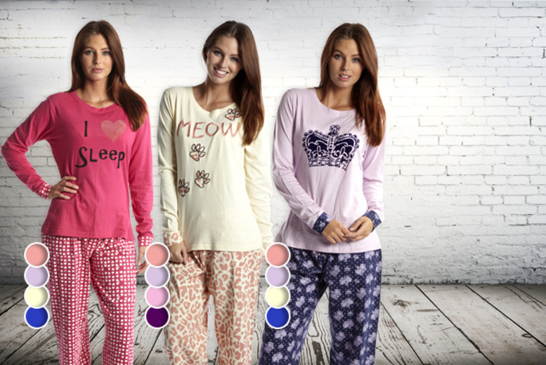 £12.99 instead of £24.99 (from Kurt Muller) for ladies' pyjamas in a choice of three styles - save 48% + DELIVERY INCLUDED!