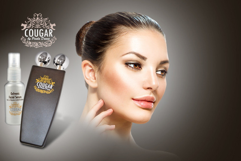 £26 instead of £159 (from Cougar Products) for a galvanic beauty device, £34 inc. galvanic serum - save up to 84%