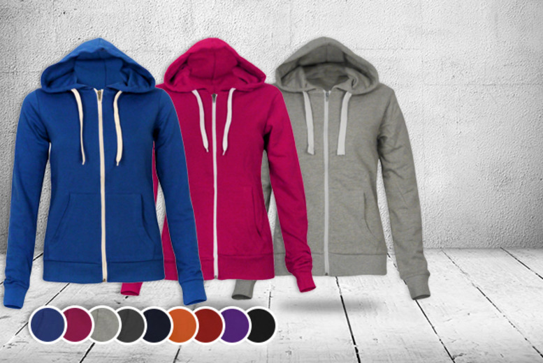 £7.99 instead of £19.99 (from Something About Fashion) for a zip-up hoodie in a choice of colours - save 60%