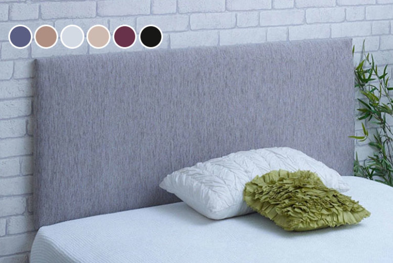 From £17.99 for a chenille headboard from Serene Living – save up to 60%