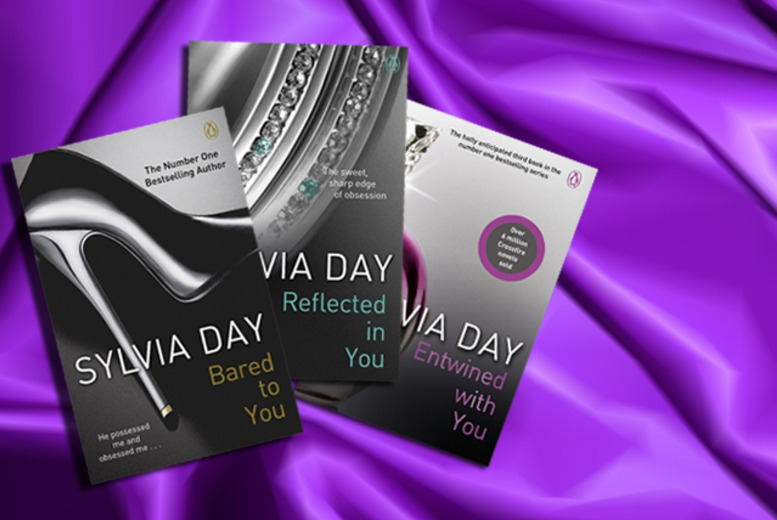 £15 for a paperback copy of the Crossfire trilogy by Sylvia Day (from Penguin) - save 26%