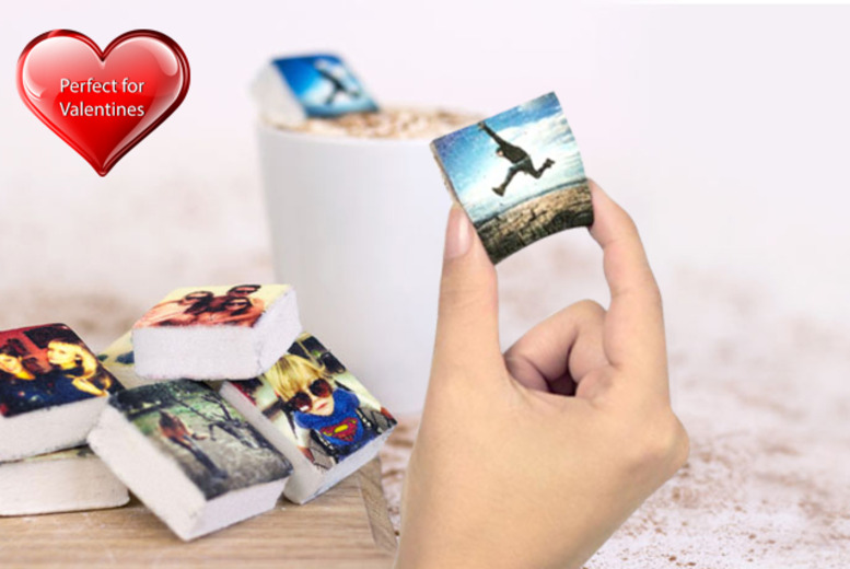 £9 instead of £12 (from Boomf) for 9 personalised Instagram marshmallows - save a sweet 25% + delivery is included!