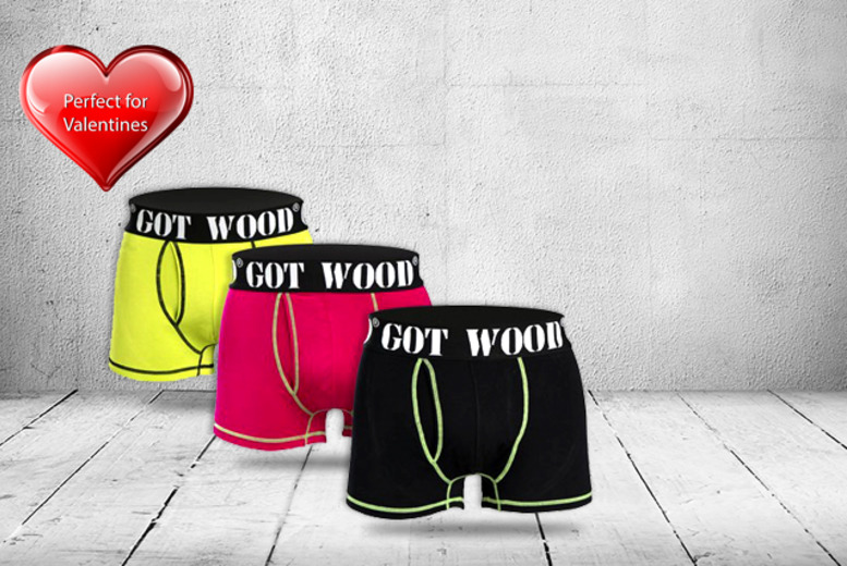 £8 instead of £15.99 (from UK Stock) for a pair of Got Wood boxer briefs - save 50%