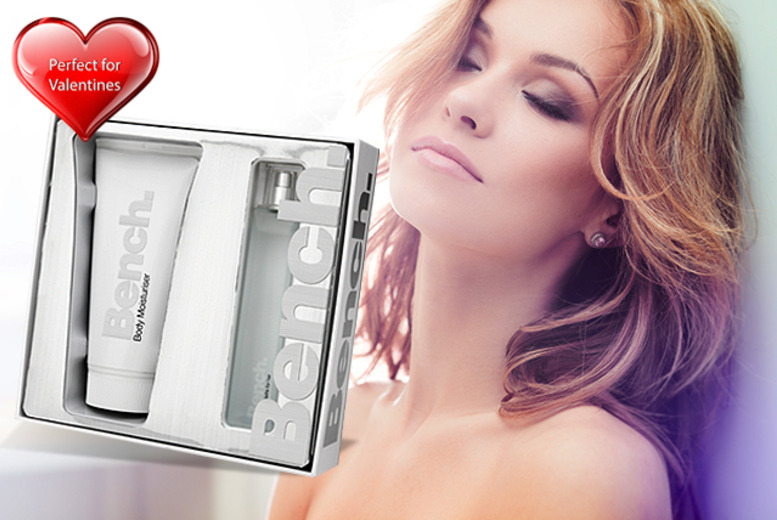 £10 instead of £20 for a men's or women's Bench fragrance set from Wowcher Direct - save 50%