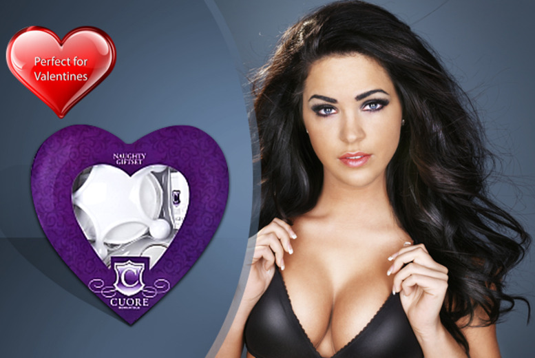 £12 instead of £28.99 for a naughty Valentine's gift set from Wowcher Direct - save a saucy 59%