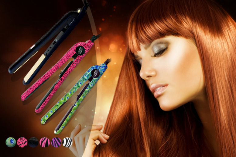 £24.99 instead of £127.92 (from Proliss) for ceramic flat iron straighteners - save 80%