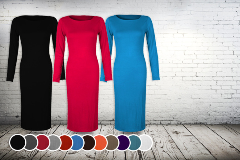 £7.99 instead of £14.99 (from Something About Fashion) for a long sleeve bodycon midi dress - save 47%