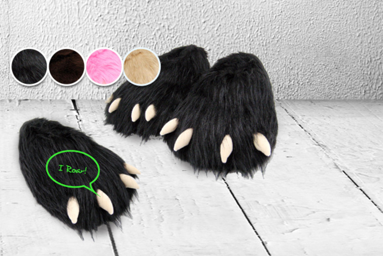 £10.99 instead of £17 (from Monster Slippers) for a pair of Monster slippers – pick from five monstrous designs and save 35%