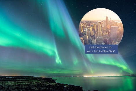 From £169pp for a two-night 4* luxury Iceland break including flights and optional tours, from £249 for three nights - chance to win a trip to New York - save up to 46%