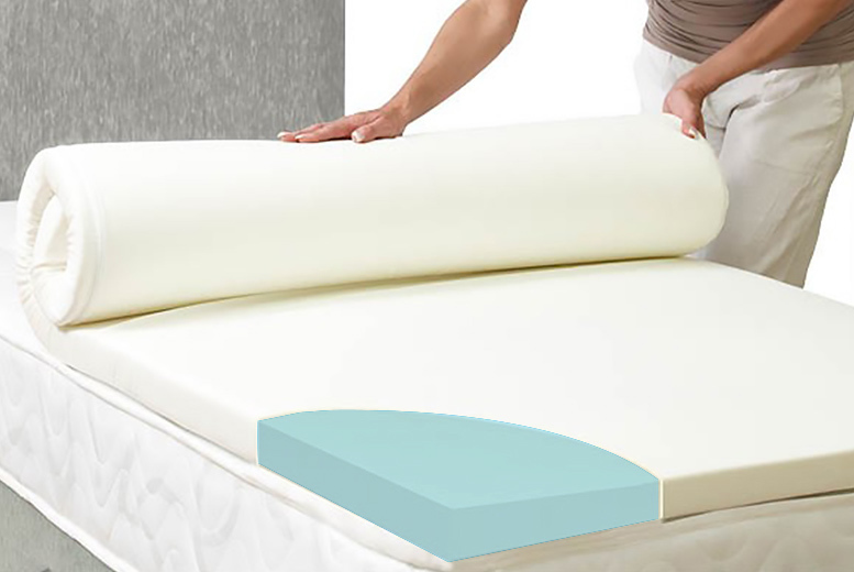 Coolblue Memory Foam Mattress Topper
