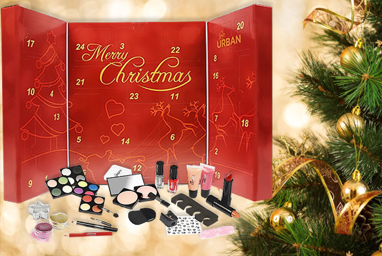£16 instead of £66 (from Forever Cosmetics) for a Love Urban beauty Advent calendar - get 24 beauty surprises and save 76%