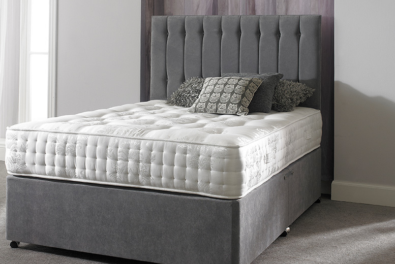 From £209 (from Sleep Express) for a luxury Sovereign series pocket sprung mattress - choose single, double, king or super king size and save up to 76%