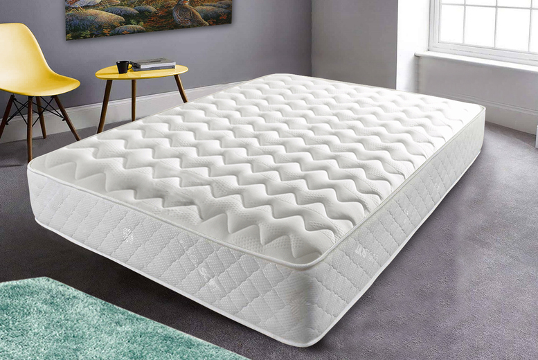 From £59 for a single orthopedic cool-touch memory sprung mattress, £69 for small double or double, or £89 for a king mattress from Mattress Haven - save up to 85%